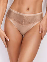Serenity Lace Embroidered High Leg Knickers