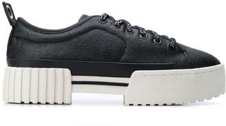 Diesel Platform Sole Sneakers