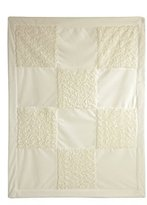 Little Me Ivory Patchwork Blanket, Ivory, Infant by
