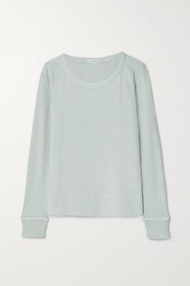 James Perse Cotton-terry Top - Light gray