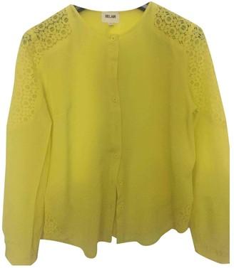 Bel Air \N Yellow Silk Top for Women