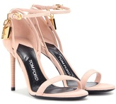 Tom Ford Embellished Suede Sandals