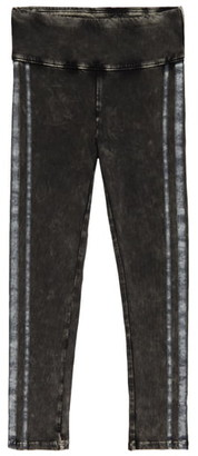Tucker + Tate Side Stripe Acid Wash Leggings