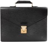 Monceau leather satchel