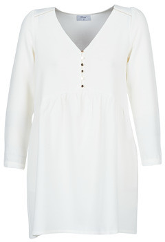 Betty London LADY women's Dress in White