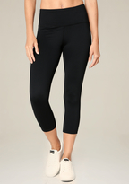 Bebe Mesh Inset Crop Leggings