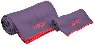 DII Athletec Sports Ultra Absorbent Yoga Towel Set