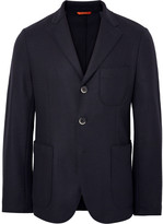 Barena - Midnight-blue Slim-fit Unstructured Virgin Wool-blend Blazer