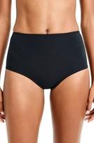 J.Crew Women's Pique High Waist Bikini Bottoms