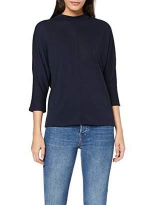 Tom Tailor Women's Stehkragen Sweatshirt, (Sky Captain Blue 10668)