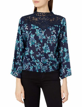 Angie Women's Long Sleeve Victorian Top