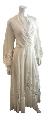 Oscar de la Renta Ecru Lace Dresses