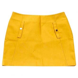Essentiel Antwerp Yellow Wool Skirts