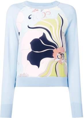 Emilio Pucci Mirabilis print jumper