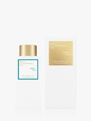 Francis Kurkdjian Apom Pour Femme Scented Body Cream, 250ml