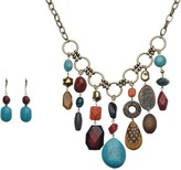 Linea By Louis Dell'olio by Louis Dell'Olio Voodoo Bead Necklace Set