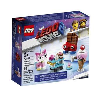 Lego The Movie 2 Buildable Playset Unikittys Sweetest Friends Ever 70822