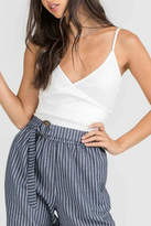 Pretty Little Things Crossover Crop Top