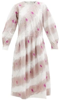Sea Tamara Tie-dyed Cotton Dress - Pink Multi