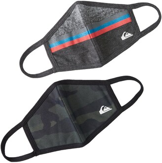 Quiksilver The Facemasque 2-Pack Youth Reversible Face Masks