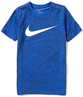 Nike Big Boys 8-20 Dri-FIT Big-Logo Short-Sleeve Tee