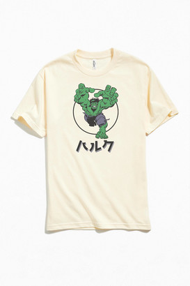 Urban Outfitters Incredible Hulk Katakana Tee