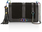 Rebecca Minkoff Always On Chevron Quilted Love Crossbody Bag