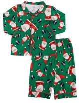 Carter's Infant & Toddler Boys Santa Claus Christmas Flannel Pajama Set 2T