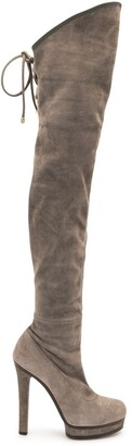 Gucci Pre-Owned 140mm Above-The-Knee Boots