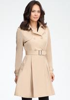 Bebe Paulette Trench Coat Dress