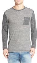 Hurley Still Stripe Pocket T-Shirt