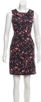 Piazza Sempione Printed Mini Dress