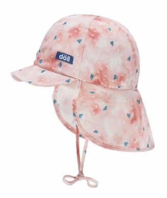 Döll Doll Baby Girls' Bindemutze mit Schirm und Nackenschutz Hat