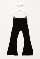 Other Fit & Flare Pants Black