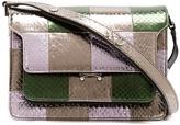 Marni Trunk medium elaphe shoulder bag