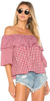 Lovers + Friends X REVOLVE Andrea Top in Red. - size L (also in M,S,XS)