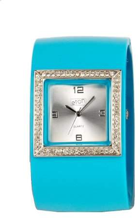 Eton Ladies Watch 2791-A with Silver Dial and Blue Strap