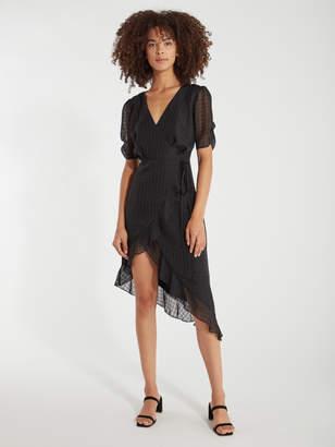 4SI3NNA the Label Valerie Wrap Mini Dress