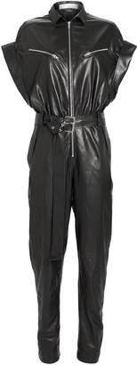 IRO Moreno Leather Jumpsuit