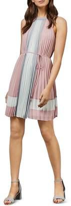 Ted Baker Lellian Pleated Color-Block Dress