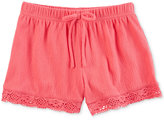 Carter's Lace-Trim Shorts, Toddler Girls (2T-4T)
