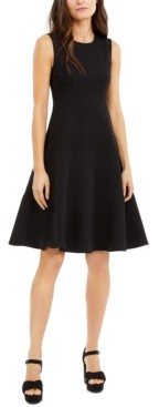 Nanette Lepore Perfectionist Tiered Fit & Flare Dress, Created for Macy's