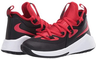 Nike Kids Future Court 2 (Big Kid) (Black/University Red/White) Kids Shoes