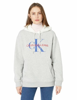 Calvin Klein Women's Short Sleeve T-Shirt Monogram Logo