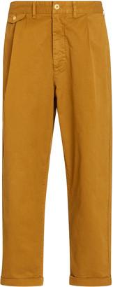 Alex Mill Pleated Cotton Chino Pants