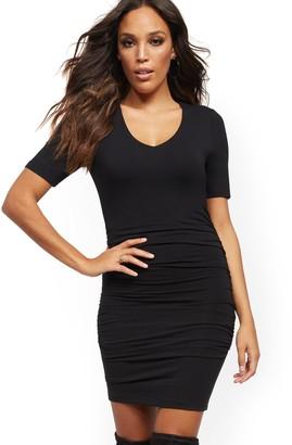 New York & Co. V-Neck Sheath Dress