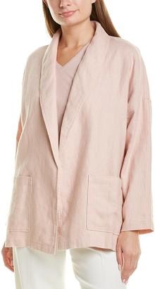 Eileen Fisher Casual Linen Blazer
