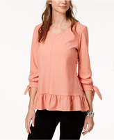Style&Co. Style & Co Petite Jacquard Top, Created for Macy's