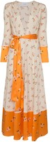 Leone We Are Ditsy floral print maxi cardigan