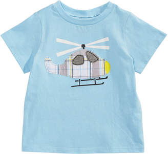 First Impressions Toddler Boys Helicopter-Print Cotton T-Shirt
